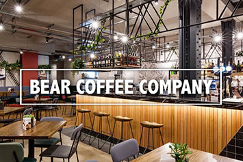BEAR Coffee Company at the R&B Design Awards